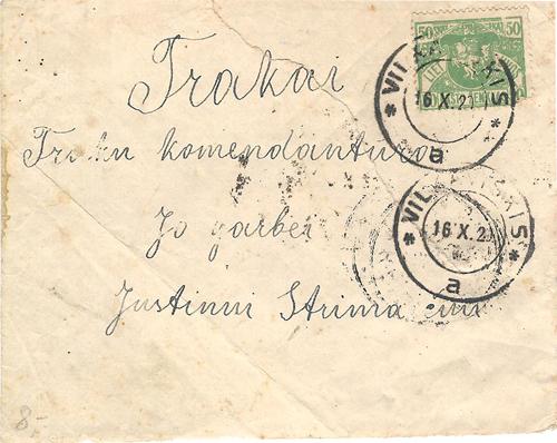Vilnius 1920 minor POs - Trakai