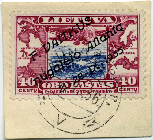 Lithuania 1935 Mi 404 postally used