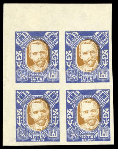 LT-1922-De-Jure-imperforate-cover-block-Lot-2143