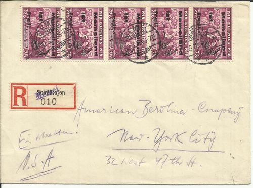 LT-1939 Memel Memelland Ist Frei New York