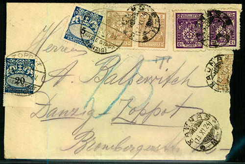 LT-1924-Kaunas-Danzig-postage-due-sm