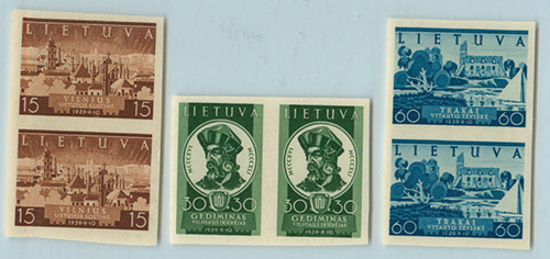 LT-1940 Recovery of Vilnius imperforate pairs