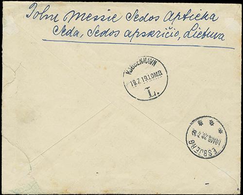 Seda 1919 Copenhagen