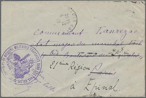 LT-1919 Missions Militaires Francais Dans Les Pays Baltis