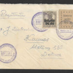 Lithuania postal history fakes and forgeries - eBay forgeries