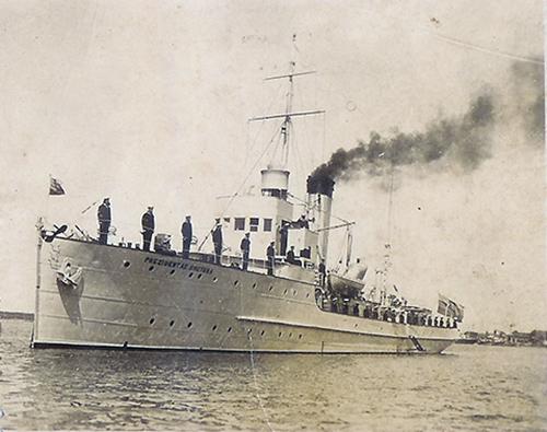 Pre-war warship Smetona