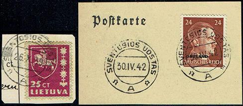 Postmarks: Sventosios Uostas