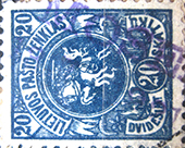 LT-1921 Mosedis provisional postmark