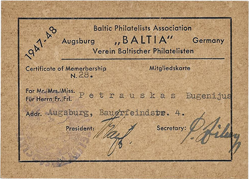 a member card