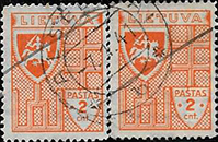 Alsedziai cancels 1941