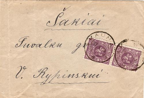 Sakiai 1919 cover