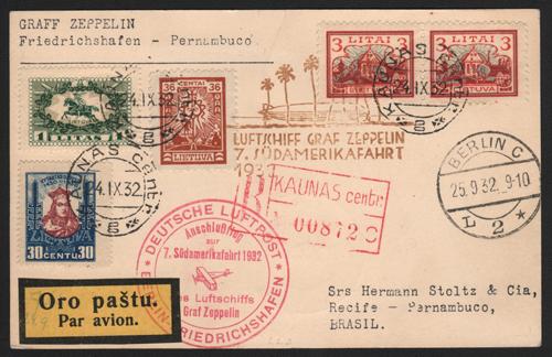 Graf Zeppelin LZ-127 Flight 279