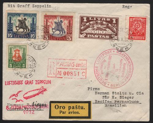 Graf Zeppelin LZ-127 Flight 282