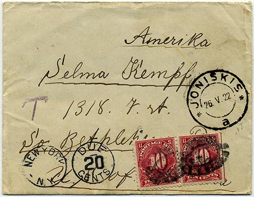 LT-1922-Joniskis-Bethlehem-NY-postage-due-sm