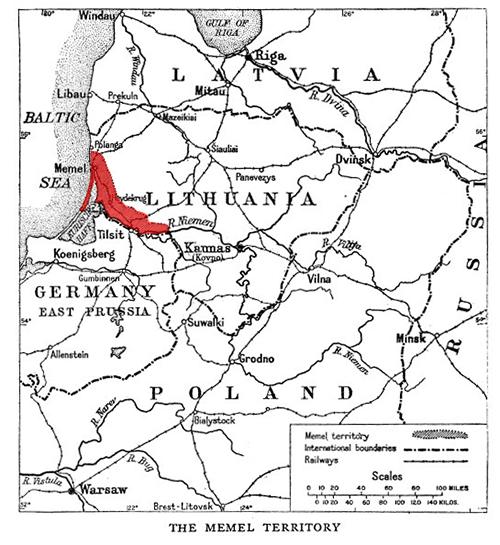Memel / Klaipeda territory