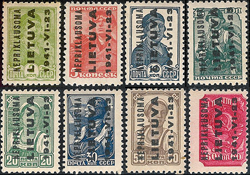 Local issues 1941: early set