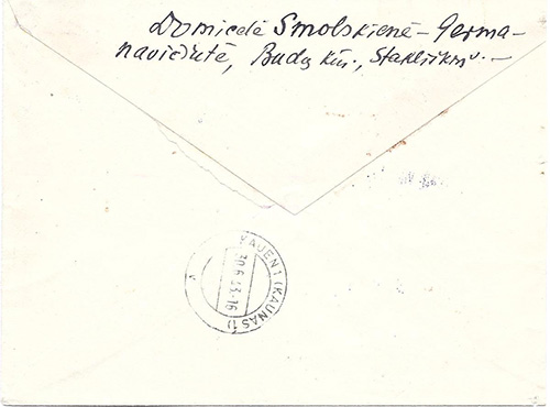 Osland 1943 Olita Alytus provisional registration