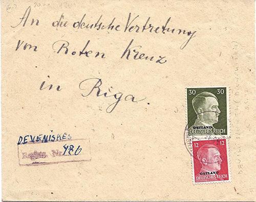 Ostland-1943 Deveniskes provisional registration