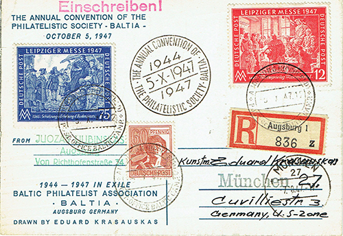 Augsburg Hochfeld Camp Post