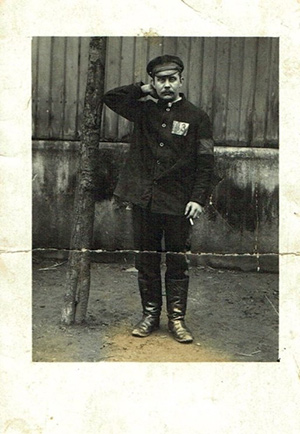 WWI prisoner mail personal photo