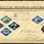 ebay forgeries - fake Lithuanian cover Klaipeda Memel
