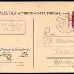 WWII forgeries Litauen Germany Occupation forgeries