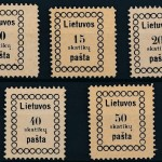 eBay  fakes and forgeries _ Lithuania stamp forgeries