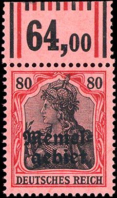Memel 1920 Mi A II