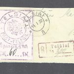 fake may stamps and covers - Lithuania local issue Telsiai 1920 forgery