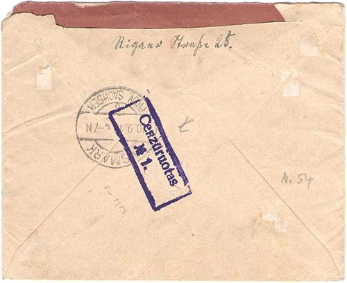 LT-1919 Ukmerge Censor No 1