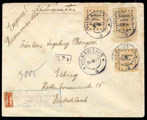 LT-1919 Vilkaviskis Provisional Registration No 384