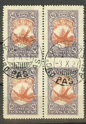 LT-1926 Mi 244UMw block x4 used